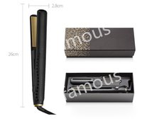 Beauty Tools V Gold Max Hair Straightener Classic Professional styler Fast Hair Straighteners Iron Hair Styling tool Good Quality