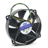 Oryginalny AVC DA09025T12U 9025 90 mm / 80mm x 25mm PWM Okrągły chłodnica wentylator chłodzący 12 V 0.70A 4WIRE 4PIN Connector Cooler