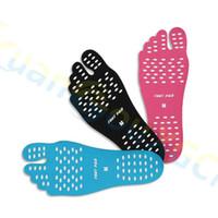 Sport Flip Flop-Schutzausrüstung Fußschutz Unisex Strand Foot Patch Pads Einlegesohlen Lady Anti-Rutsch-Schuhe Matten Silikon