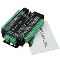 WS24LU3A 24CH DMX Controller DMX 512 Decoder RGB LED Strip Module Dump Node 24x3A WS24LU3A