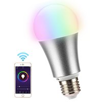 WiFi LED Bulb E27 5W 110- 240V Dimmable Bulbs Lamp By Phone R...