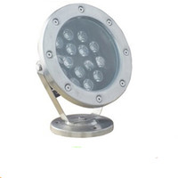 15W 18W 36W LED Undervattenslampor RGB POOP POOL Fountain Light Spot Lampor IP68 Vattentät AC12V AC24V