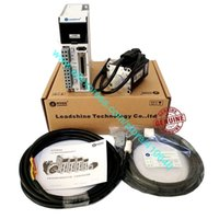 EL5-P0200 Leadshine 400W L5-400Z AC Servo Motor Drive and 200 W Leadshine AC Servo Motor ACM6002L2H-B0-D-SS with Cables Connecor