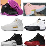 New Women 12 12s GS Hyper Violet Taxi OVO White Youth Basket...