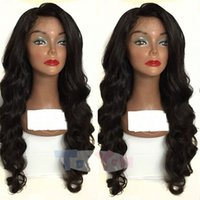 Loose Wave Wig Brazilian Lace Front Human Hair Wigs For Blac...