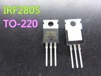 Transistor à effet de terrain de 5 pcs / lot IRF2805 IRF2805PBF TO-220 55V 75A