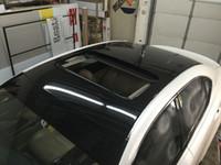 Piano Gloss Wrap Vinyle noir pour enveloppe de voiture avec bulle d'air Free Vehing enveloppant une feuille de couverture avec une colle à basse colle 3M Qualité 1,52x20m 5x67ft