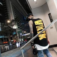 2020 magliette del progettista dei nuovi uomini di modo di Quick Dry Maglietta senza maniche T Hip Hop Ultra High Street allentato T-shirts S-4XL marea di marca all'ingrosso