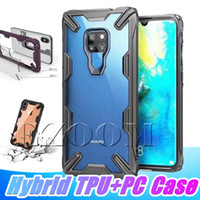For Iphone XS MAX Case Hybrid Soft TPU Bumper Clear PC Back ...