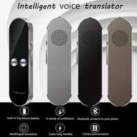 Mais novo portátil K8 Mini sem fio Tradutor Inteligente 68 Idiomas Two-Way Tempo real instantâneo Voice Translator APP Bluetooth Multi-Idioma