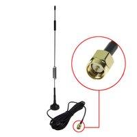 SMA 7DBI High Gain 4G LTE CPRS GSM 2.4G WCDMA 3G антенна с базой магнитной подставки