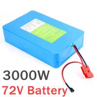 72v 20ah 30ah 40Ah 60Ah 2000 w 3000 w Bateria de Litio ebike Bateria de Roller 72v com carregador