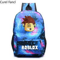 Hot Roblox Galaxy Space Backpack School Bags for Teenage Gir...