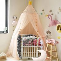 Bed tende Hung Dome zanzara del bambino ragazze Hanging tende Bed zanzariera per ragazze dei bambini scherza la stanza Decoration
