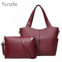 Women Composite Bag Set Luxury Leather Purse and Handbags Fa...