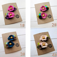 13 styles Baby Girls Barrettes Children Bow with Hair alliga...