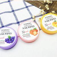 Nagellackentferner Auferstehung Tuch Obst Aromatisierte Waschen Baumwolle Werkzeuge