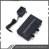 Freeshipping Mini Micrófono de 2 canales Preamplificador Dual Mic Mic Preamp Electric Guitar Bass Amplificador para el hogar AUIDO