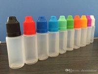 Soft Style Tips brevi 5ml 10ml 15ml 20ml 30ml di plastica contagocce Child Proof contagocce bottiglia vuota Bottiglia E Liquido Oil