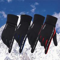 Design classico Design Inverno Sport sportivi all'aperto Guida Tenere Guanti caldi Cool Screen Touch Five Fingers Glove
