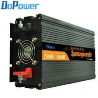 Freeshipping 2500W omvormer DC24V naar AC230V / 220V Pure Sine Wave Solar Inverter, 50Hz of 60Hz Off Grid Inverter