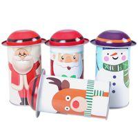 Eisen-Baby-Süßigkeits-Kasten-kreisförmiges umweltfreundliches Geschenk-Kasten-Elch-Originalitäts-Süßigkeits-Glas mit hoher Qualität 4 78qy J1
