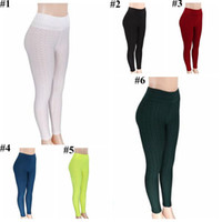 Leggings Mulheres Yoga fitness Jeggings Casual Desportos collants da moda Corredor da ginástica Sportswear Magro Pencil Pants Hot Capris CYL-B5626