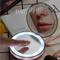 Portable LED Makeup Mirror 2- Face 1X & 3X Magnifying Glasses...