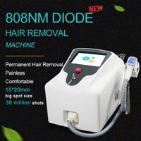 808 레이저 고통없는 머리 제거 장치 부드러운 다이오드 808nm 가정 사용 피부 강화 아름다움 장비 CE
