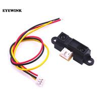10pcs / lot Sharp Capteur IR GP2Y0A21YK0F Distance de détection de mesure 10 à 80 cm avec câble livraison gratuite
