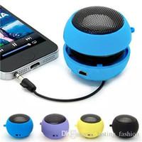 Mini Högtalare Hamburg Kort Högtalare Telefon Datorhögtalare MP3-spelare Fällbar högtalare Support Musik Louder Speaker