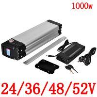 24V / 36V / 48V 52V 18AH 20AH 25Ah 30AH Batterie au lithium vélo électrique adapter à moteur 250W 500W 750W 1000W