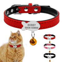 wholesale Customized Cat Collar Personalized Puppy Small Dog...
