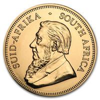 Südafrika 2016 1 Unze Gold-Krügerrand Proof Münze Ultra-Miniatur-Knappe, Metallhandwerk mit Spiegeleffekt