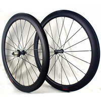 Carbon Road Wheels 38 50 60 mm clincher 700C tubeless ready ...