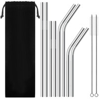 Stainless steel Drinking Straw for 20 oz 30 oz mug Durable f...
