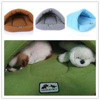 أزياء الحيوانات الأليفة القط بيت الكلب بيت جرو حفرة السرير السوبر لينة وسادة عش دافئ مجرفة الساخنة الخصي المفضل