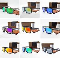 9102 pour les hommes Sunglasses Summer Shade Protection UV400 Lunettes de soleil hommes Lunettes de soleil 11 couleurs avec boîte
