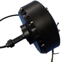 انخفاض سرعة 500-2000W فرش DC السلطة العليا وحيد الجانب محور العجلة موتور جولف العربة للسيارات