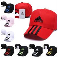 cheap for discount bd24a f4a0b Adidas Hat Cap Venta al por mayor hombres mujeres sombrero otoño e invierno  gorra de béisbol