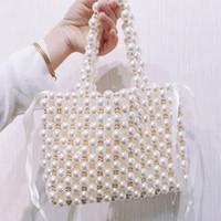 Borse all'ingrosso delle borse borse di alta qualità del progettista Shopping Bag Classic Portafoglio Donna personalità Flap Bag Beads rappezzatura di trasporto