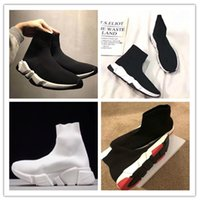 Balenciaga Sock shoes Luxury Brand  De Luxe Chaussures Noir Blanc Casual Chaussures Pour Femmes Baskets Noir Femmes Bottes Baskets Designer Chaussures 36-47