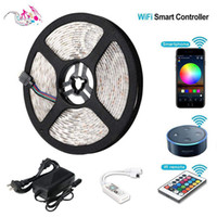 Striscia LED RGB flessibile 16FT 5050 SMD 5M 300 LED con controller IR a 44 tasti IR