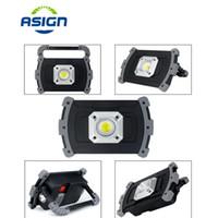 20W COB LED Projektör Spotlight USB Şarj edilebilir Taşınabilir İş Işık Su geçirmez Açık Acil Lambası Kamp Çim Aydınlatma