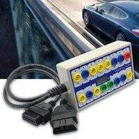 أدوات OBD 2 توفير الوقت اندلاع مربع السيارات تشخيص السيارات للكشف عن خيارات التبديل اليدوي إصلاح كبل الخط الفاحص