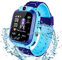 ساعة ذكية الاطفال للماء مع كاميرا SOS منبه 1.44 HD ألعاب الشاشة للحصول على 3-12 سنة أولد بويز بنات هدية عظيمة