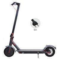 Elektrikli Scooter 250 W 36 V 8.5 inç Max 30 KM / H D9 Bluetooth Uygulamaları ile Akıllı Katlanabilir Scooter PK M365