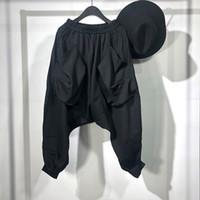 Owen Seak Hombres Pantalones Casual Cross High Street usar pantalones Ropa de primavera pantalón harén