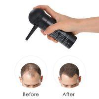 Cabelo de fibra de fibra aplicador de cabelo construção de fibra spray spray styling cor pó extensão afinando ferramentas de crescimento de cabelo espessamento