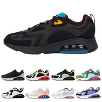 200 Bordeaux Desert Sand women men running shoes Mystic Gree...